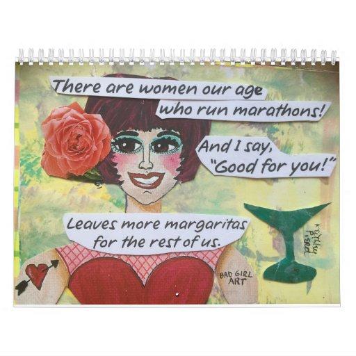 2016 BAD GIRL CALENDAR-MARGARITA Calendar