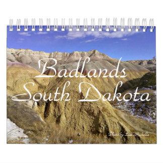 2016 Badlands Calendar