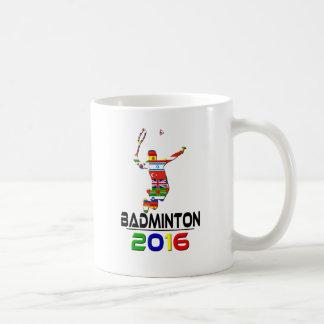 2016: Badminton Coffee Mug