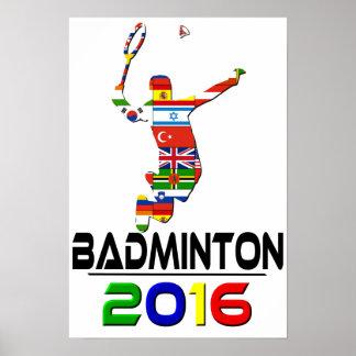2016: Badminton Poster