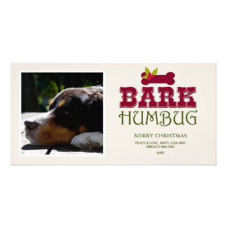 2016 BARK HUMBUG | Holiday Photo Card
