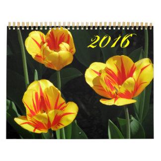 2016 Beautiful flowers photography calendar