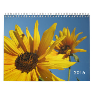 2016 Bees and Flowers Calendar