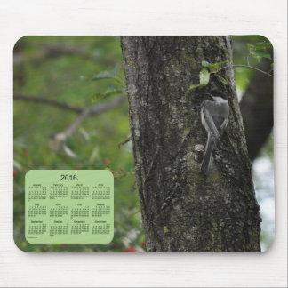 2016 Bird Calendar by Janz Mousepad