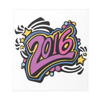 2016 BLOC DE PAPEL