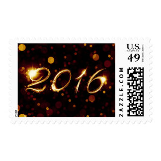 2016 (bokeh lights) stamps
