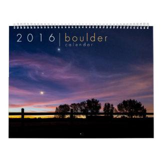 2016 Boulder Colorado Calendar