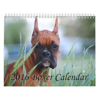 2016 Boxer Dog Calendar I