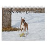 2016 Boxer Dog Calendar II