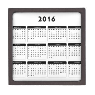 2016 Calendar2 jGibney The MUSEUM Zazzle Gifts Gift Box