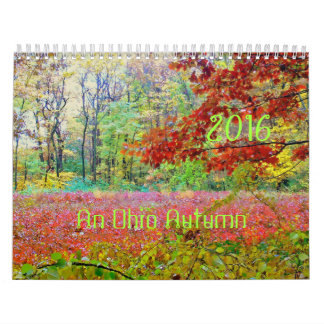 "2016 Calendar, ""AN OHIO AUTUMN"" Calendar"