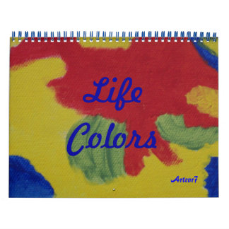 2016 Calendar Art Life Colors Two Page