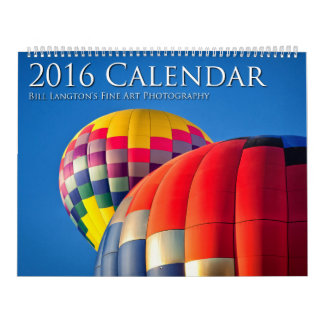 2016 Calendar, Bill Langton's Fine Art Photography Calendar