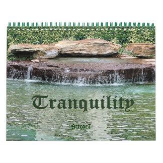 2016 Calendar Cascade Tranquility Standard 2 Page