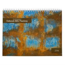 2016 Calendar Deborah Mills Thackrey photos