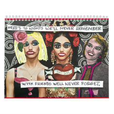 2016 Calendar Filled With Bad Girl Art at Zazzle