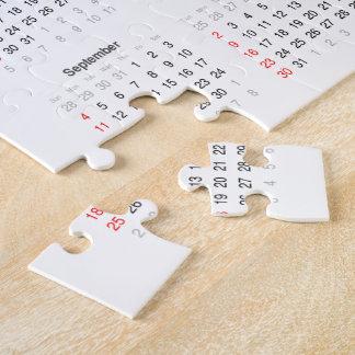 2016 Calendar Gifts Jigsaw Puzzle
