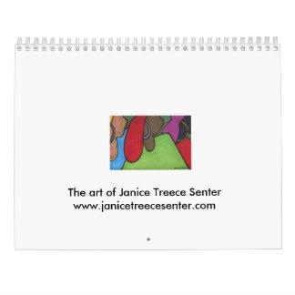 2016 Calendar- Janice Treece-Senter Calendar
