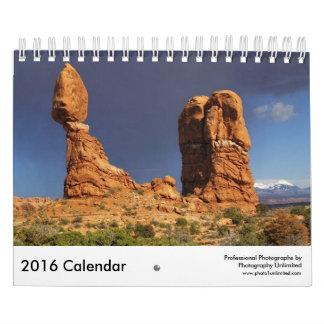 2016 Calendar Scenic Views