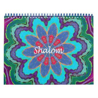 2016 Calendar Shalom Lace Mandala Standard 2 Page