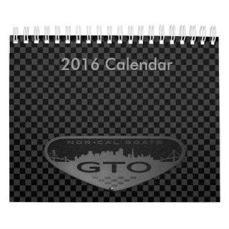 2016 Calendar, Small Calendar