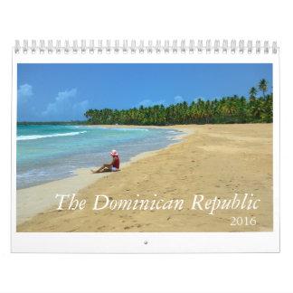 2016 Calendar The Dominican Republic