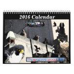 2016 calendario - collages principales de la leva
