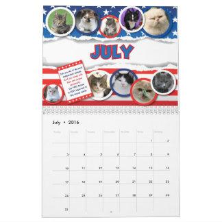 2016 calendario de las imágenes de FFRC Pat