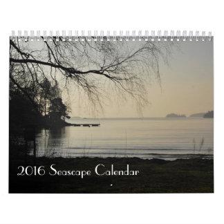 2016 calendario del paisaje marino, fotos de