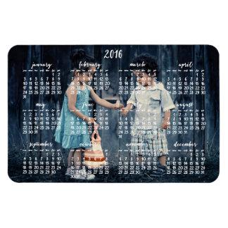 2016 calendario magnético personalizado 4x6 imanes