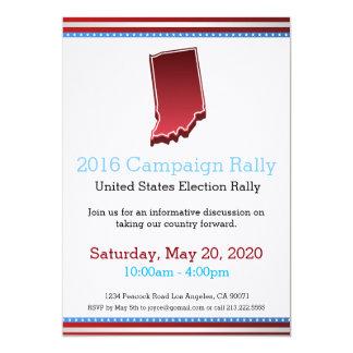 2016 Campaign Rally Indiana Invitation