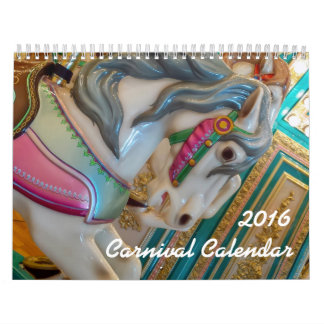 2016 Carnival Calendar