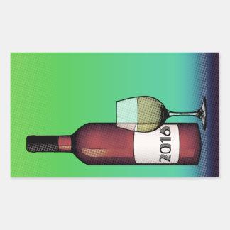2016 Cheers! Rectangular Sticker