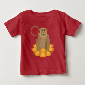 2016 Chinese Year of the Monkey with Gold Bars Baby T-Shirt