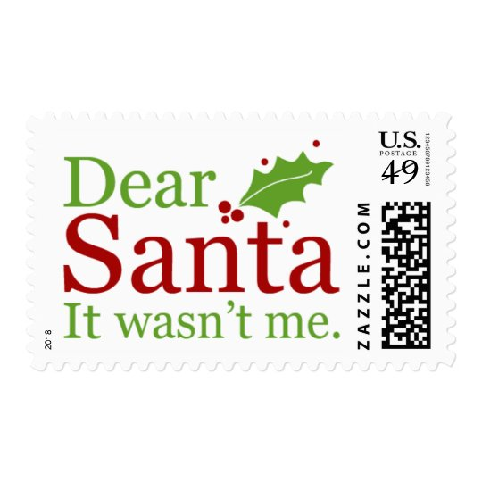 2016 Christmas Stamps { Letters To Santa }