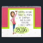 """2016 Cocktail Calendar<br><div class=""""desc"""">A Calendar filled with fun sayings,  words to live by advice and a new Cocktail Recipe for each month. Cheers to that and to everything else!</div>"""