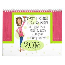 2016 Cocktail Calendar