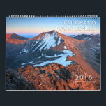 "2016 Colorado Fourteeners Calendar<br><div class=""desc"">A landscape Calendar dedicated to the Fourteener Peaks of Colorado. Longs Peak,  Maroon Peak,  Wetterhorn Peak,  Mount Sneffels to name a few.</div>"