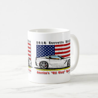 2016 Corvette Coupe Coffee Mug