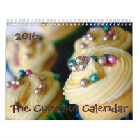 2016 Cupcake Calendar