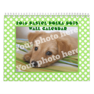 2016 Custom Photos Add Your Pictures Wall Calendar