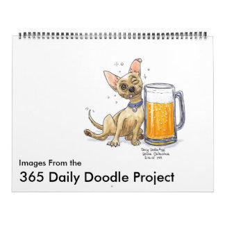 2016 Daily Doodle Calendar