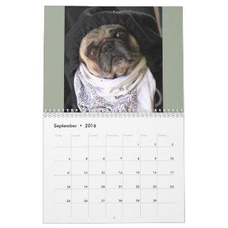 2016 Daily Dose of Pug Calendar