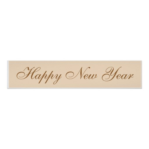 ~ 2016 de la Feliz Año Nuevo Póster