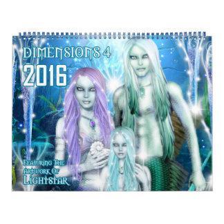 2016 Dimensions 4 Calendar By Lightstar