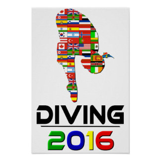 2016: Diving Poster