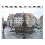 2016 Dresden Germany Travel Calendar