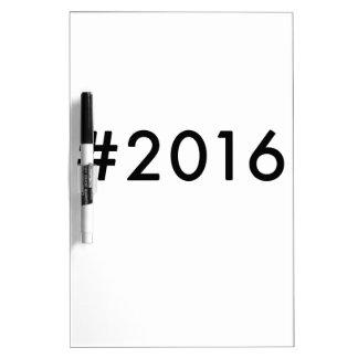 2016 Dry-Erase BOARD