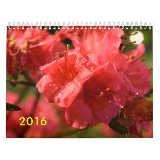 2016 East Coast Highlights Calendar