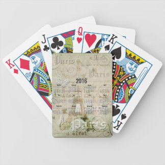 2016 Eiffel Tower Paris New Year Gifts Bicycle Playing Cards